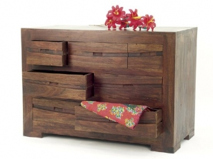 Commode indienne Palissandre